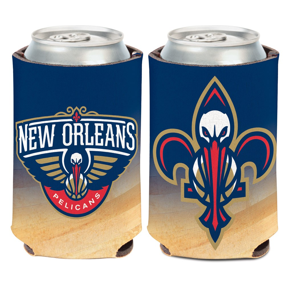 New Orleans Pelicans Official NBA 12 oz. Insulated Coozie Can Cooler by WinCraft