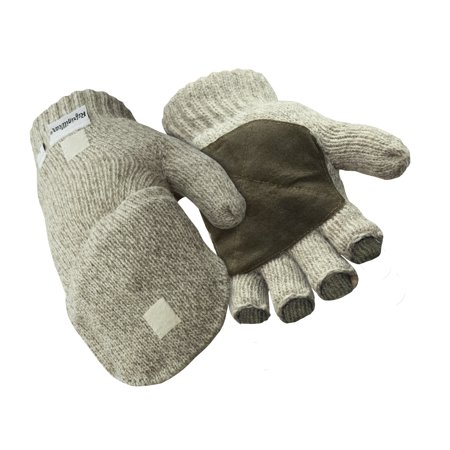 Insulated Ragg Wool (RefrigiWear Insulated Ragg Wool Mitt Glove)