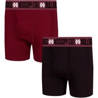 Mississippi State Bulldogs Concepts Sport Duo Boxer Briefs - Maroon/Black