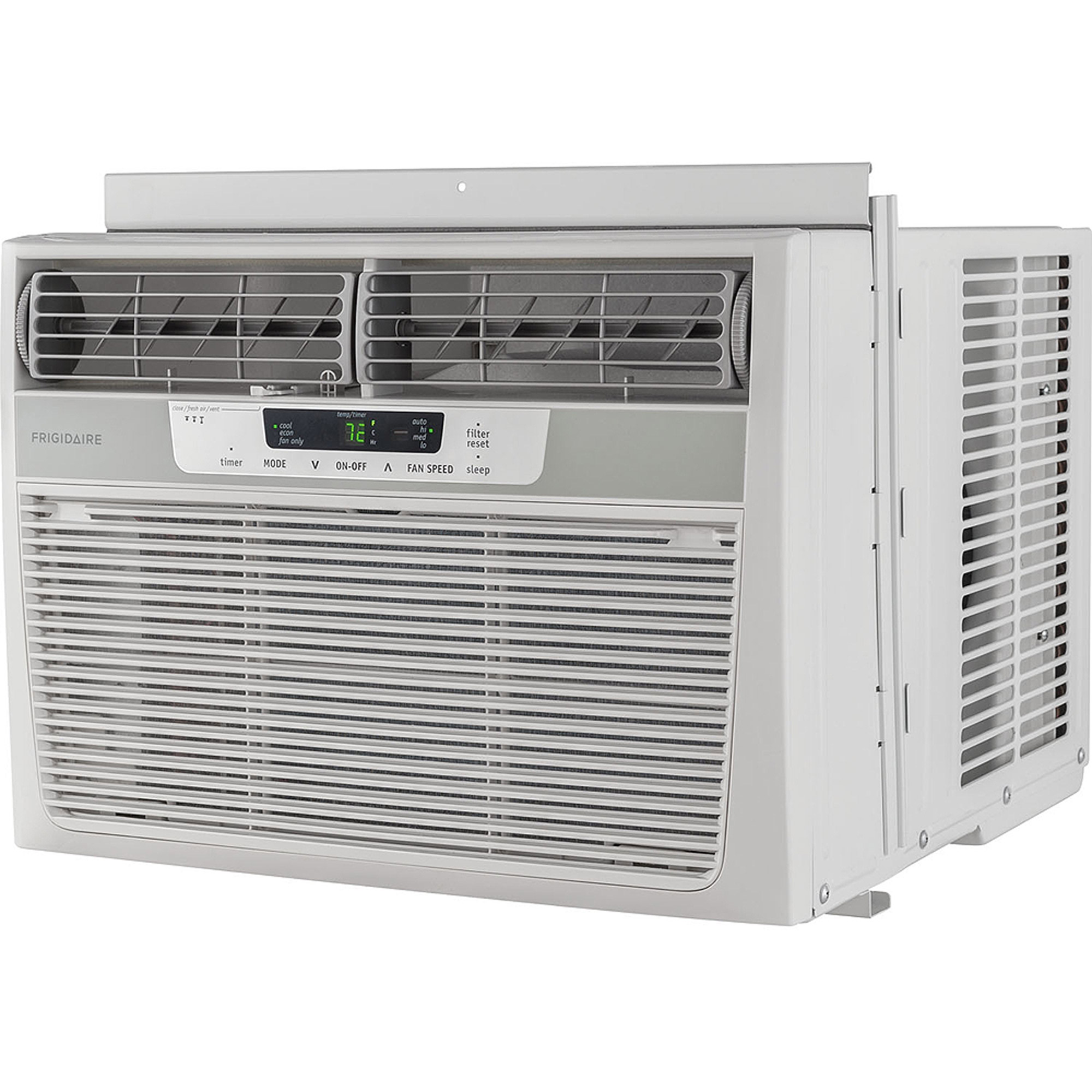 Frigidaire ffra1022r1 10000 btu 115v window mounted compact air frigidaire ffra1022r1 10000 btu 115v window mounted compact air conditioner with remote control walmart fandeluxe Images