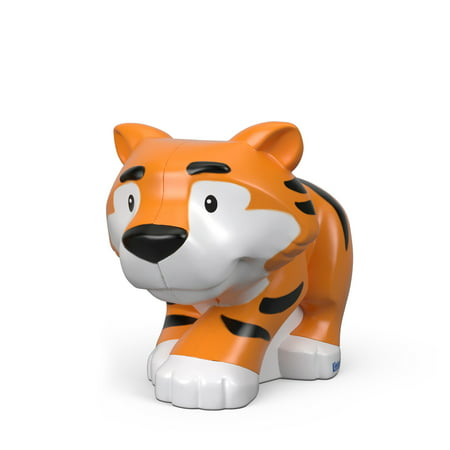 Fisher Price Little People Single Animal Tiger - Fisher Price Animals Of The Rainforest