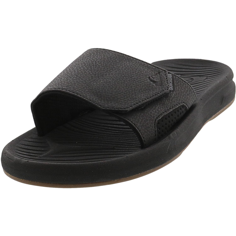 Quiksilver Java Wordmark Chaussures de Plage /& Piscine Gar/çon