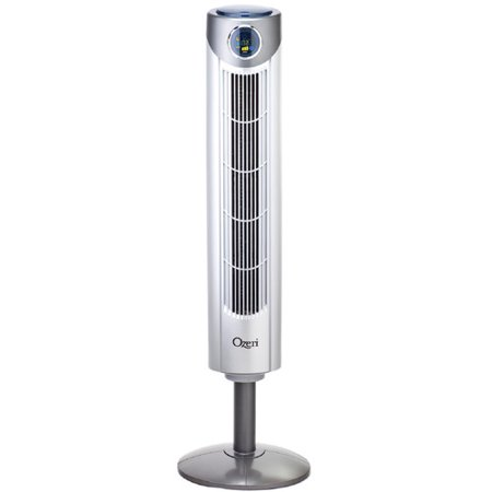 Ozeri Ultra 42 Wind Fan -- Adjustable Oscillating Tower Fan with Noise Reduction Technology