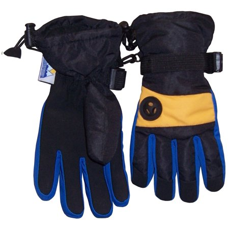Nice Caps Kids Boys Thinsulate Waterproof Winter Snow Ski Glove With Air Hole   Fits Toddlers Childrens Youth Child Sizes