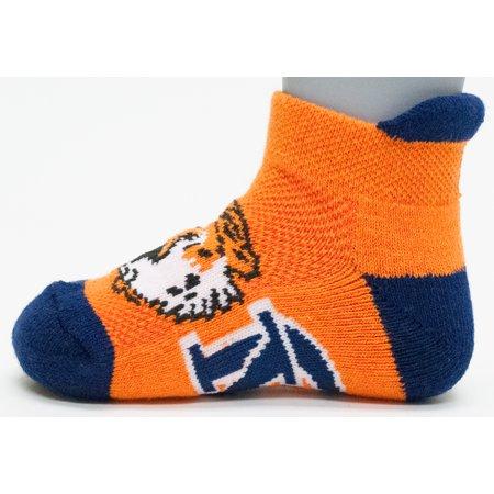 Auburn Tigers Baby Footie Sock](Auburn Mermaids)