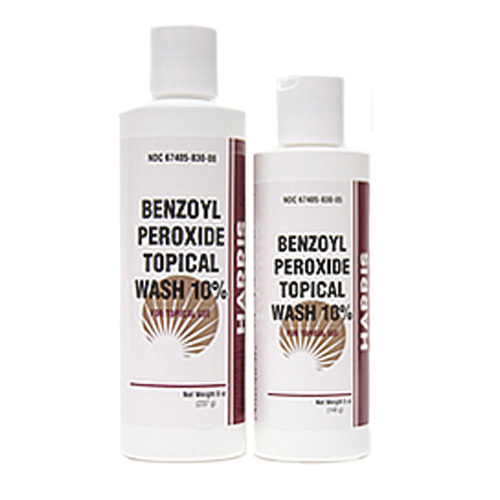 Benzoyl Peroxide Topical Wash 10 Percent By Harris Pharmaceuticals  - 5 Oz, 3 Pack Black Pine Antiwrinkle Firming & Lifting Day Cream Normal - Combination Skin by Korres for Unisex - 2.03 oz Cream