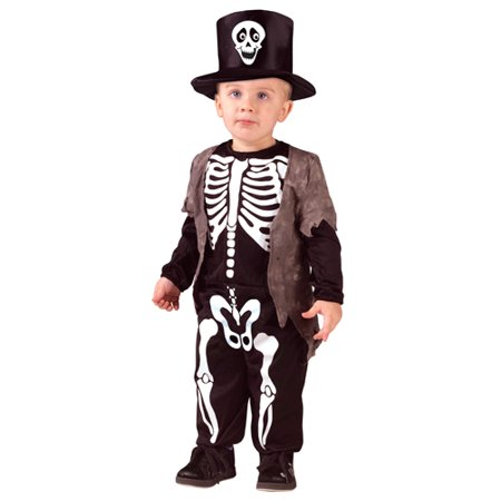 Kids Happy Skeleton Toddler Costume](Toddler Skeleton Costume)