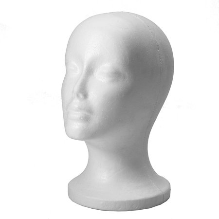 Cosmetics Female Foam Styrofoam Mannequin Manikin Head Model Hair Hat Wig Glasses Stand Display - Halloween Mannequin Head