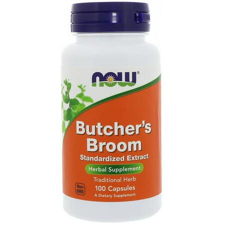 Now Foods, Butcher's Broom, 100 Capsules(pack of 1) (Butchers Broom Capsule)