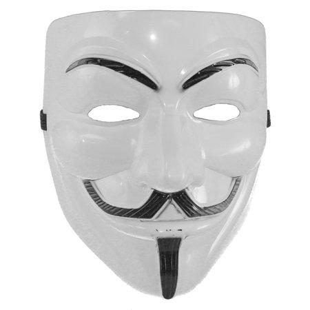 V FOR VENDETTA MASK - Guy Fawkes - PLASTIC COSTUME