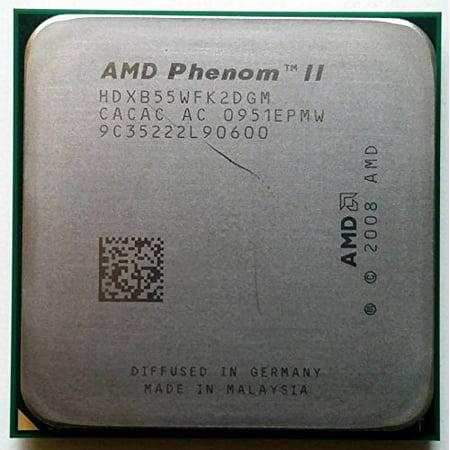 AMD Phenom II X2 B55 3.0GHz Dual-core HDXB55WFK2DGM CPU Processor Socket AM2+ AM3 938-PIN -
