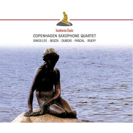 Singelle/Bozza/Dubois - Copenhagen Saxophone Quartet [CD]