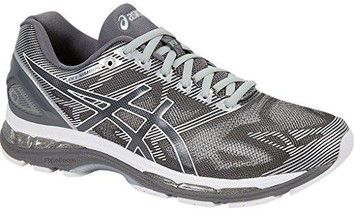 ASICS ASICS Men's Gel Nimbus 19 Running Shoe, CarbonWhite