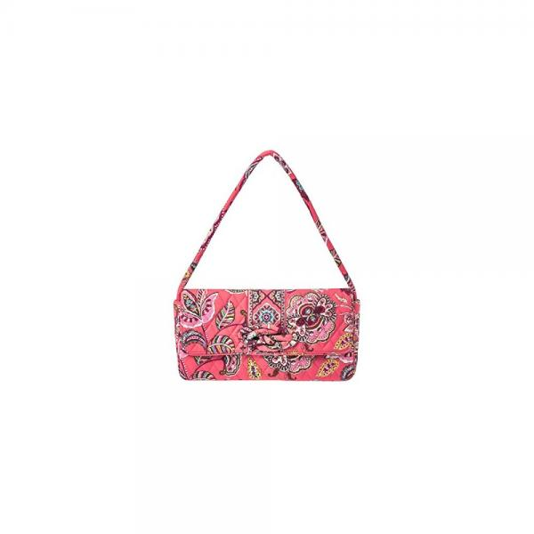 Vera Bradley Knot Just a Clutch Bag in Call Me Coral