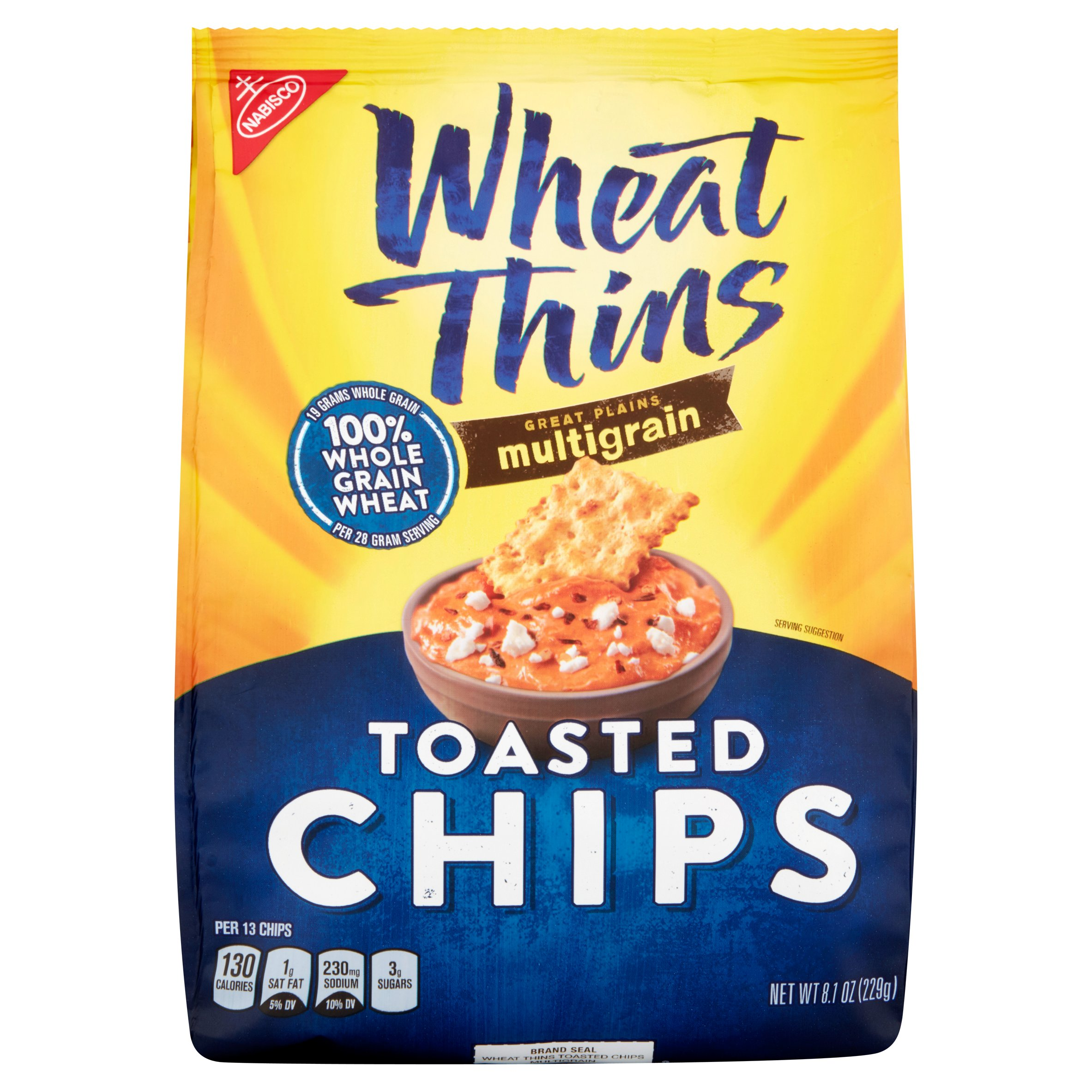Nabisco Wheat Thins Toasted Chips, 8.1 oz
