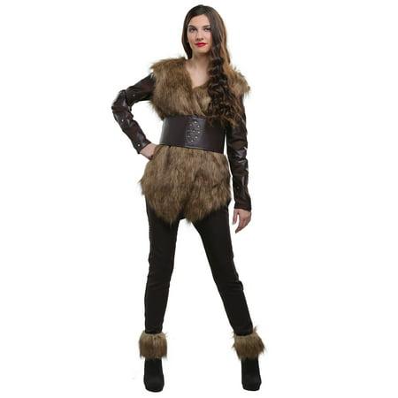 Warrior Viking Women's Costume - image 2 de 2