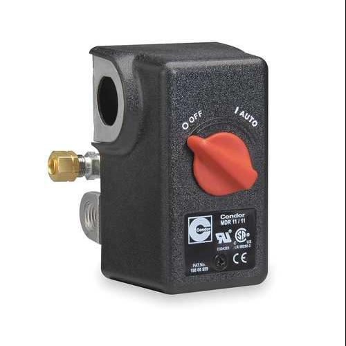 CONDOR USA, INC 11SC2E Pressure Switch, DPST, 60/80 psi