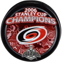 Carolina Hurricanes Unsigned 2006 Stanley Cup Champions Logo Hockey Puck