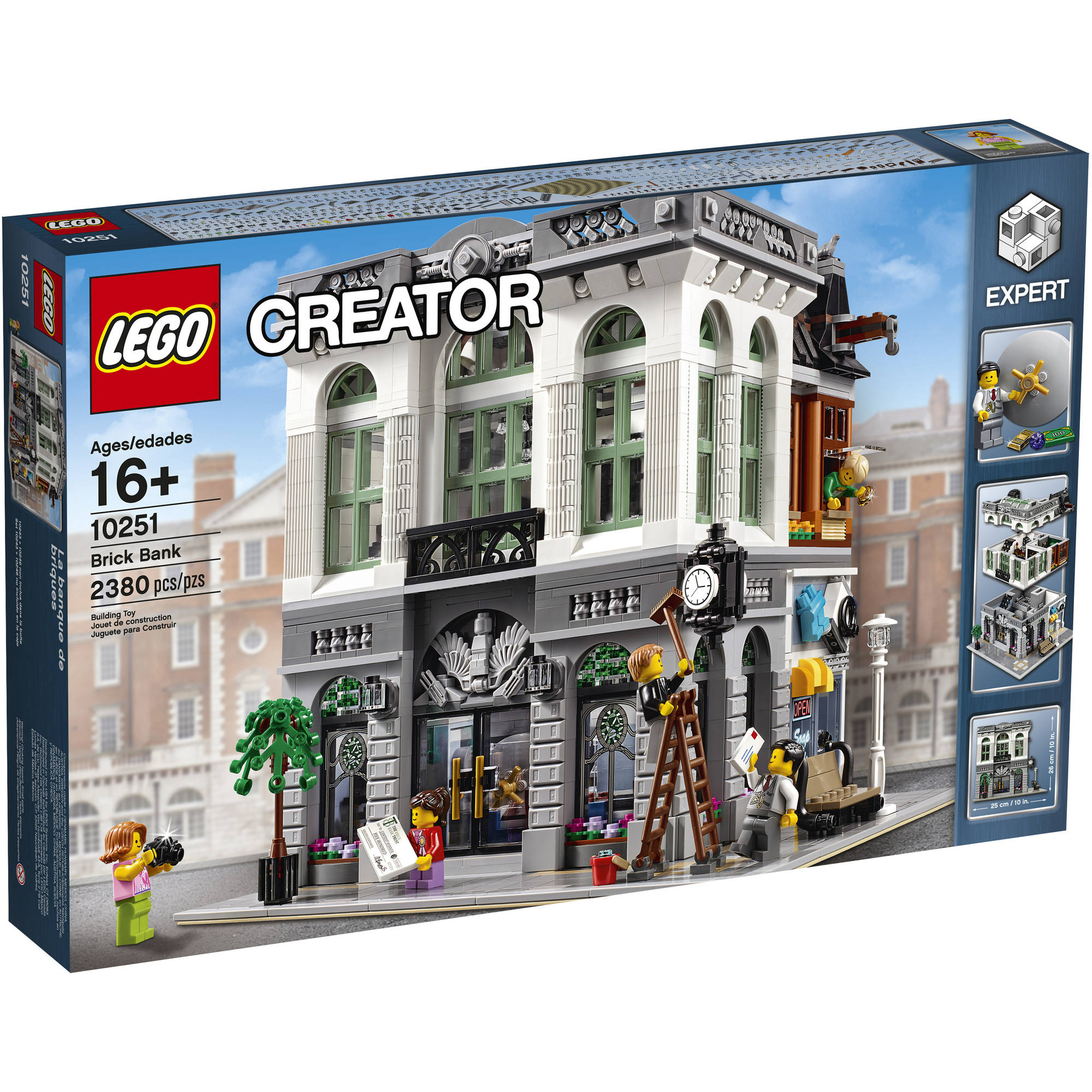 Lego Creator Expert Brick Bank 10251 by LEGO Systems, Inc.