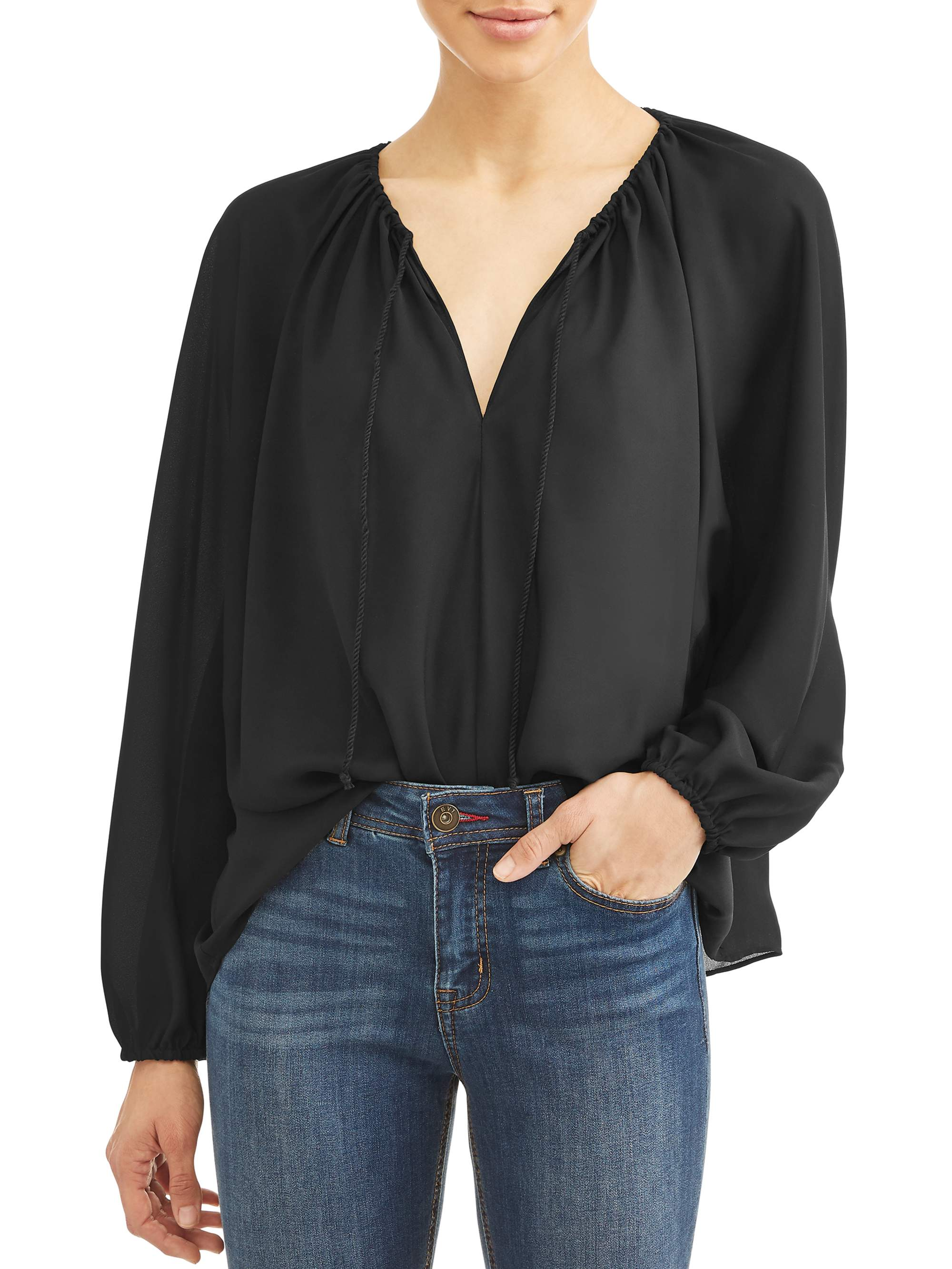 Women's Drew Puff-Sleeve Blouse