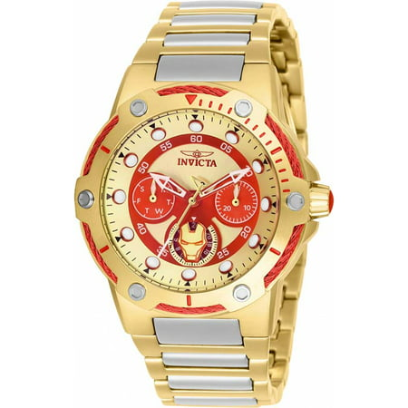 Invicta Women's Marvel Ironman Stainless Steel Watch 26985