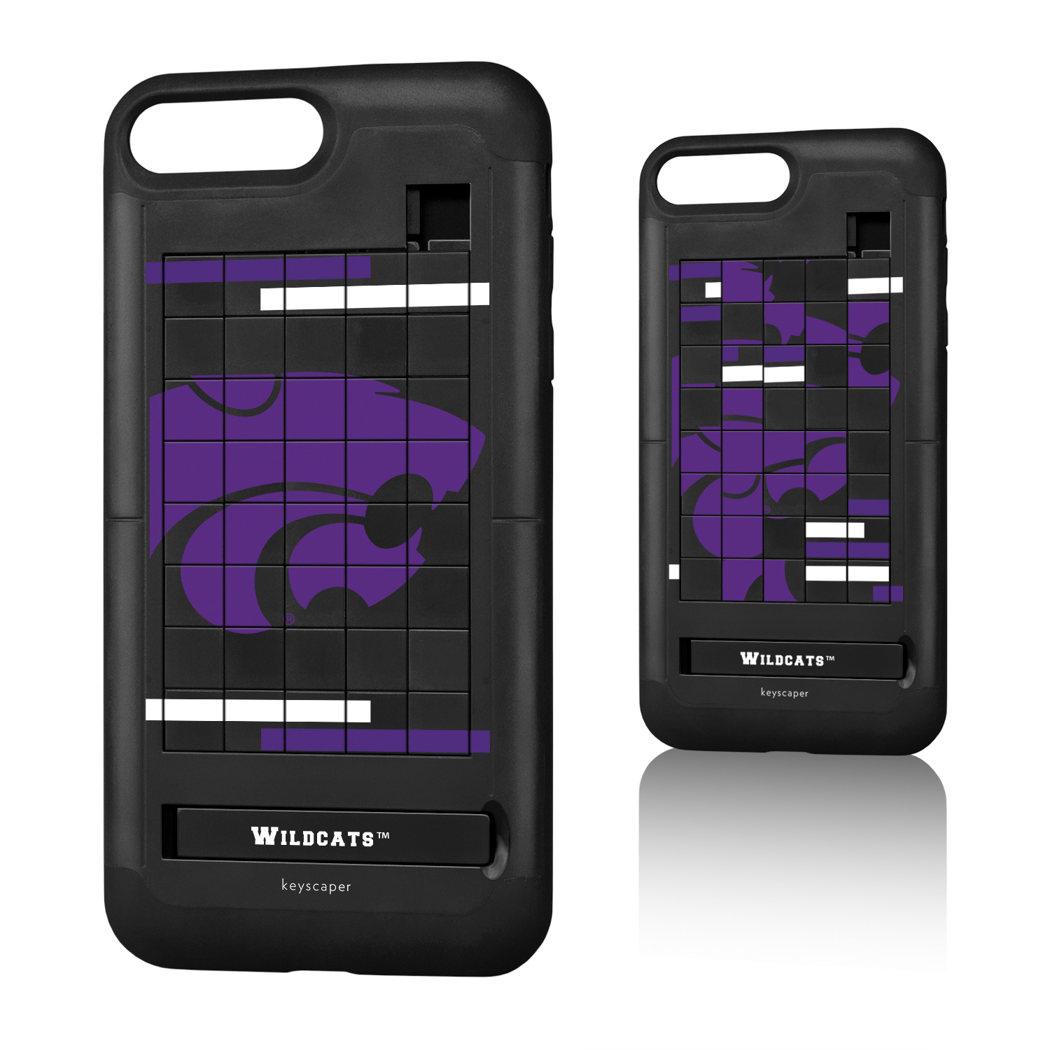 best loved 6b761 2e2c7 Kansas State University iPhone 7+ Puzzle Case