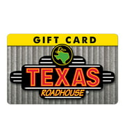 Texas Roadhouse $25 Gift Card (email Delivery)