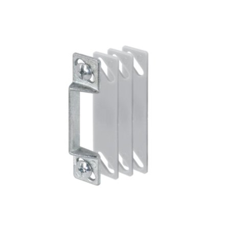 CRL Aluminum Latch Strike with Shims ()