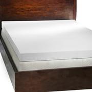 Comfort Dreams  4-inch Memory Foam Mattress Topper with Two Bonus Contour Pillows