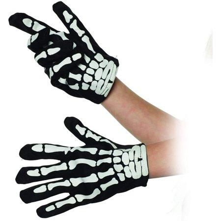 Shake Dem Halloween Bones Song (Skeleton Child Unisex Bone Printed Halloween Costume)