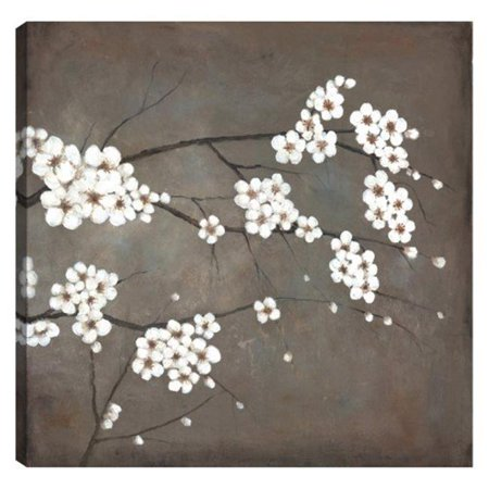 Art Maison Canada UNBIMP4325ONL 24 x 24 in. Cherry Blossoms Whites Floral Canvas Print Wall Art - image 1 of 1