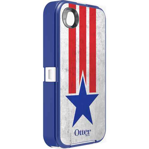 OtterBox Defender Case for iPhone 4/4S, Stars and Stripes