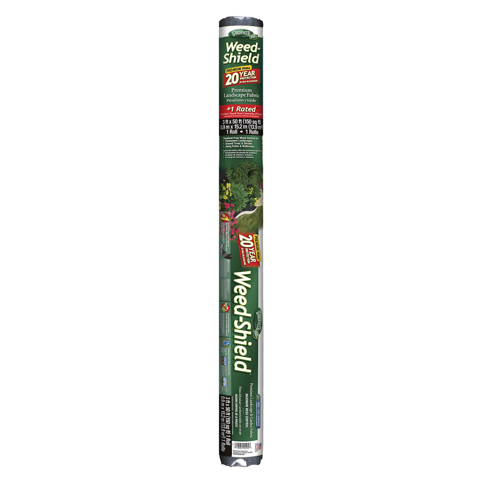 Dalen Products 3' X 50' 20 Year Weed-Shield®