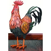 Regal Art and Gift 20 in. Golden Rooster Statue