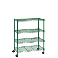 "Muscle Rack 5-Shelf Wire Shelving, Green, 16"" D x 30"" W x 36"" H"