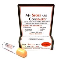 2 Pack - My Spots Are Concealed  A Cover Stick That Will Erase & Blend, Light 1 ea