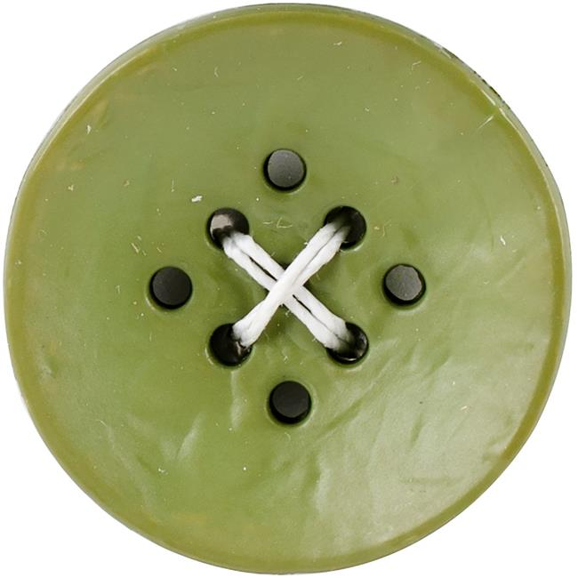 Black 9 Hole Small Buttons, 1 in. - 2 per Pack