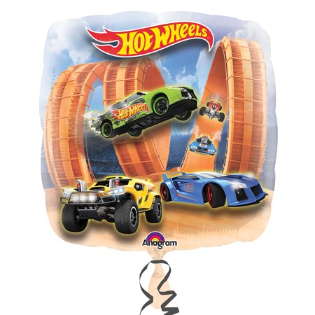 "Hot Wheels Racer Jumbo 28"" Balloon - Party Supplies"