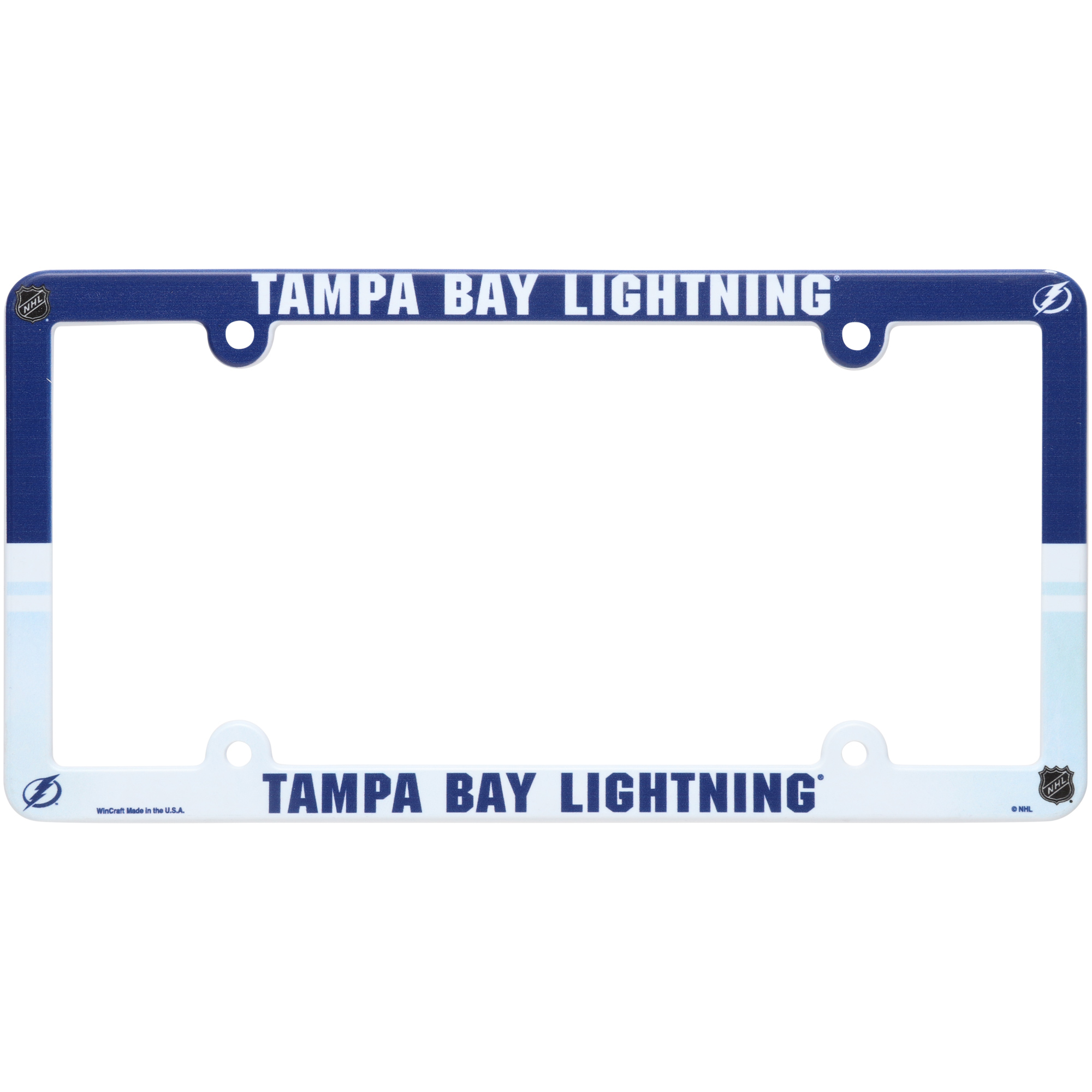 Tampa Bay Lightning Plastic License Plate Frame - No Size