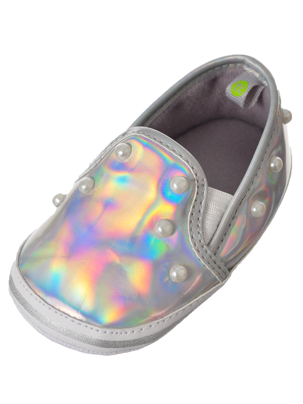 First Steps by Stepping Stones Baby Girls' Sneaker Booties (Sizes 2 - 4)