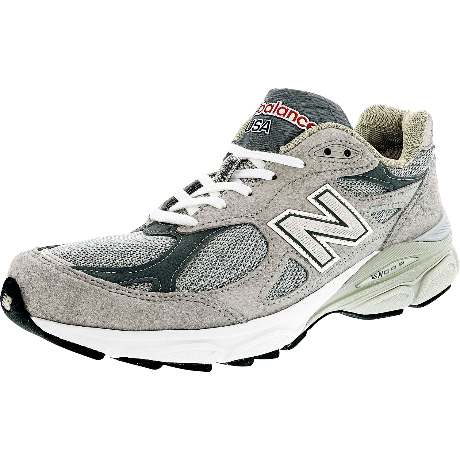 New Balance Men's M990 Gl3 Ankle-High Leather Running Sho...