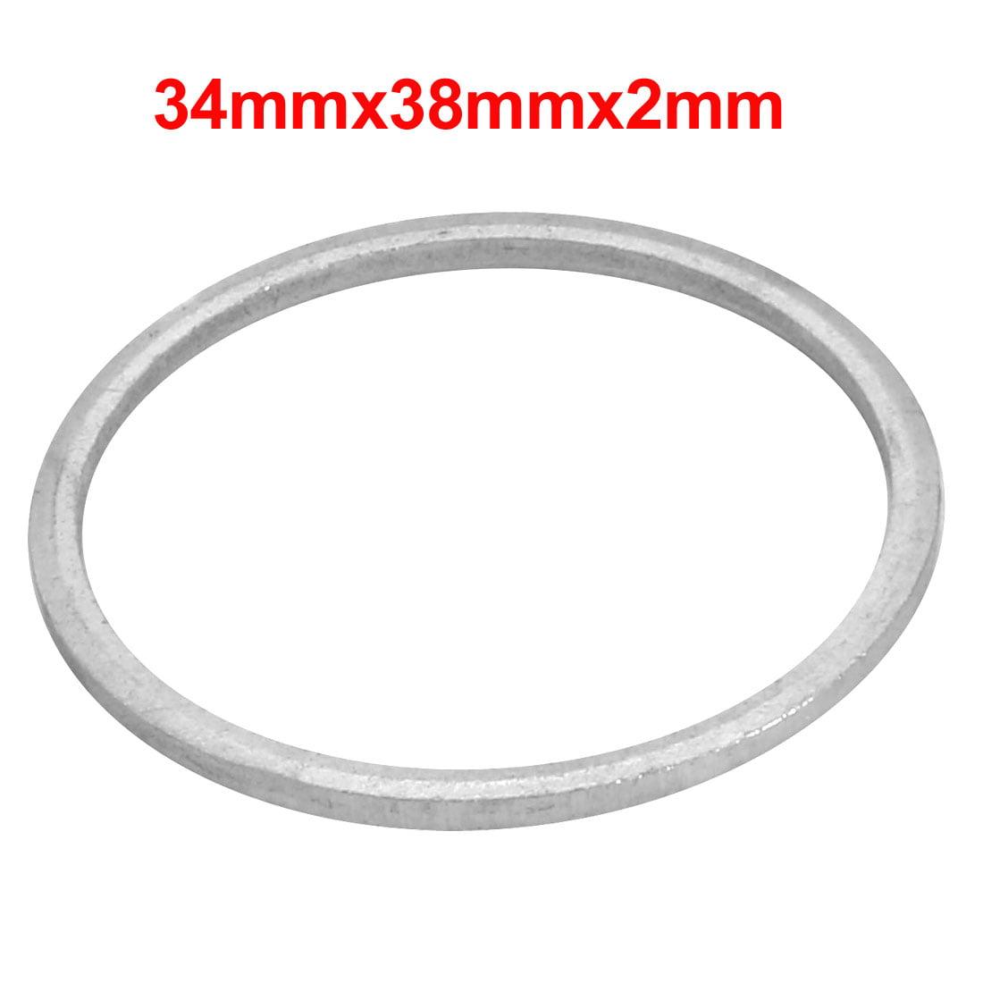 20Pcs 34mmx38mmx2mm Aluminum Motorcycle Hardware Drain Plug Washer - image 2 de 3