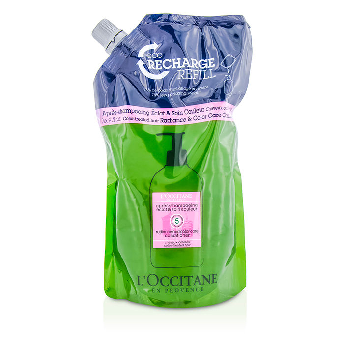 L'Occitane - Aromachologie Radiance and Color Care Conditioner Eco-Refill (For Color-Treated Hair) - 500ml/16.9oz