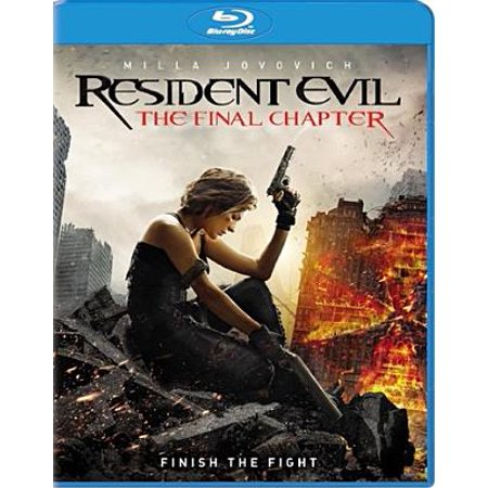Resident Evil: The Final Chapter (Blu-ray) (Resident Evil Halloween Horror Nights)