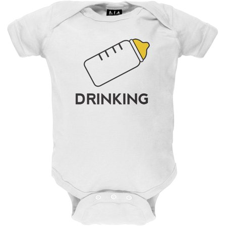 Halloween DRINKING Buddies Baby One Piece - Halloween Drinking Gif