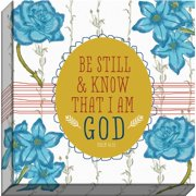 Carpentree Homestyle Charm 'Be Still and Know' Wall Art on Canvas