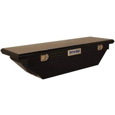 Lid Crossover Truck (BETTER BUILT 73210799 60IN CROSSOVER BLACK SINGLE LID LO-PRO, INWEDGEIN TRUCK TOOL BOX )