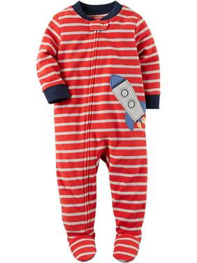 25e631b1a Carter s Toddler Boys One-piece Pajamas - Walmart.com