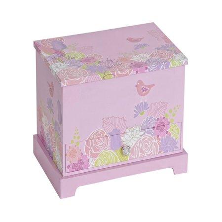 Mele & Co. Piper Girls Musical Ballerina Jewelry Box - Little Girls Jewelry Boxes