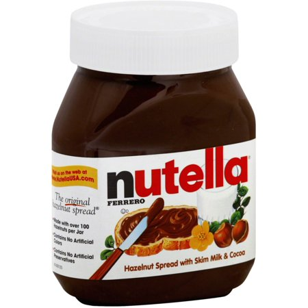 - Nutella Hazelnut Spread, 26.5 oz